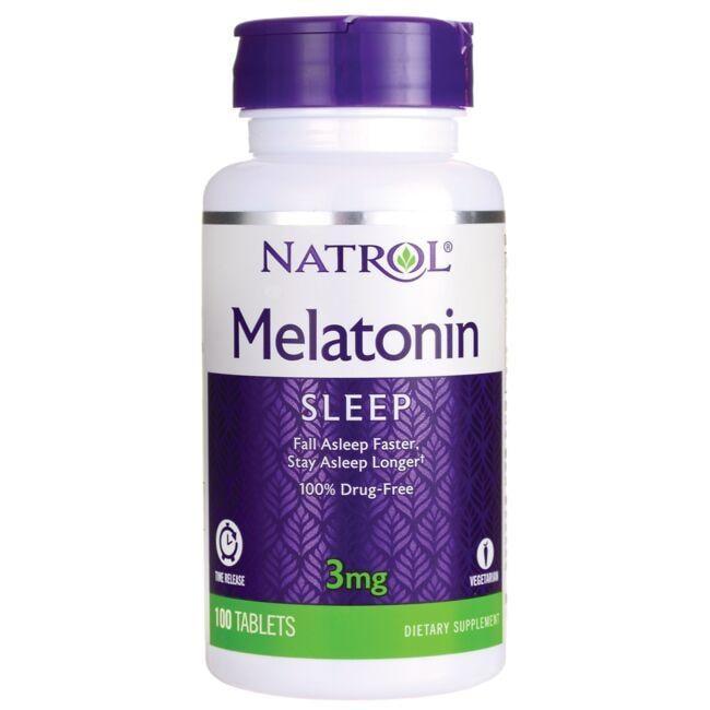 NatrolMelatonin Time Release