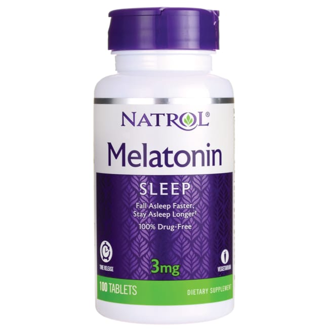 NatrolMelatonin Timed Release