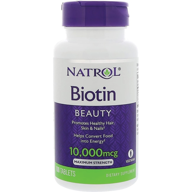 NatrolBiotin Maximum Strength