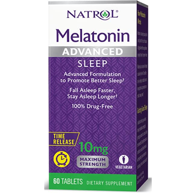 NatrolAdvanced Sleep Melatonin Maximum Strength