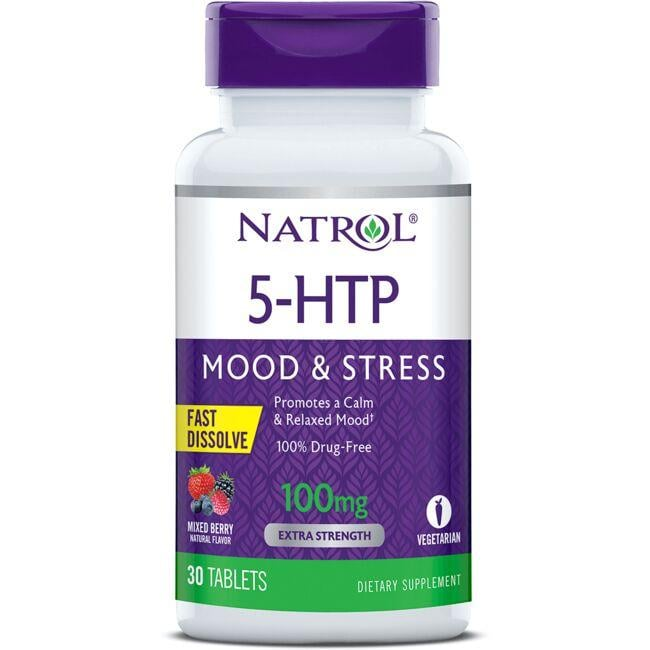 Natrol5-HTP Fast Dissolve - Mixed Berry