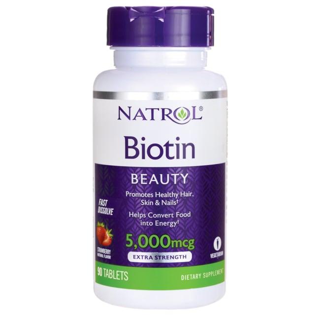 NatrolBiotin 5000 mcg Fast Dissolve