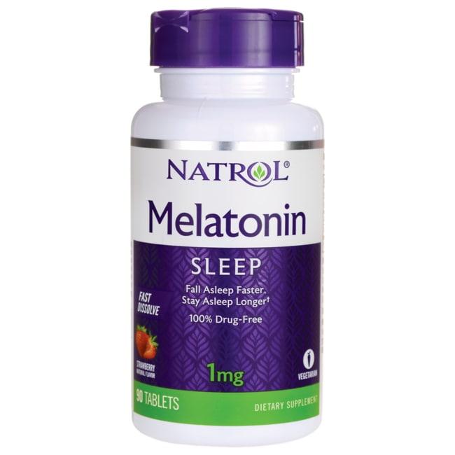 NatrolMelatonin Fast Dissolve