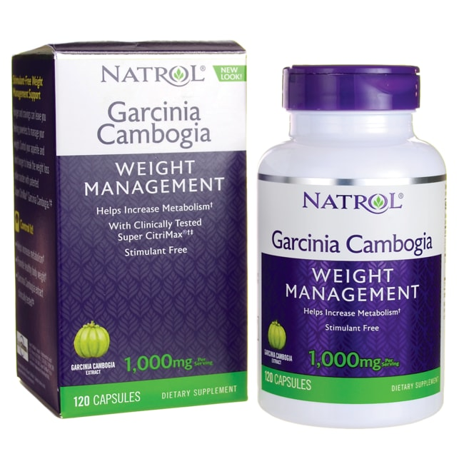 NatrolGarcinia Cambogia Extract Appetite Intercept