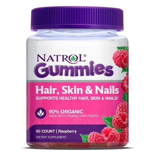 Natrol Hair, Skin & Nails - Raspberry