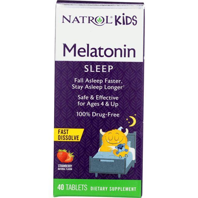 NatrolKids Melatonin - Strawberry