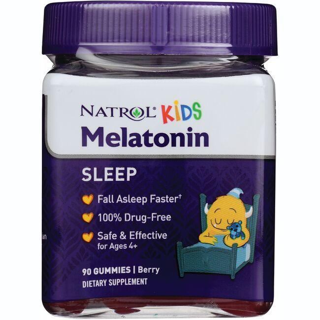 NatrolKids Melatonin Gummies - Berry