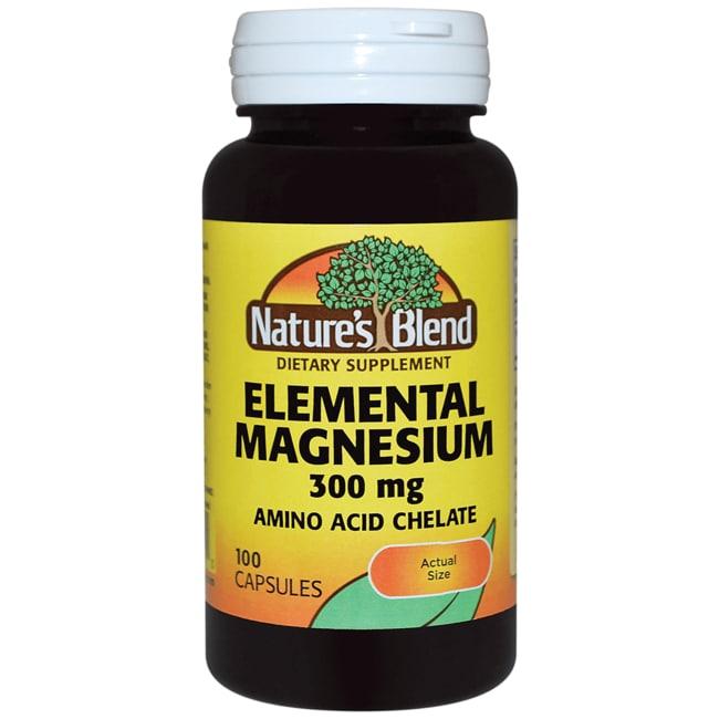 Nature's BlendElemental Magnesium Amino Acid Chelate