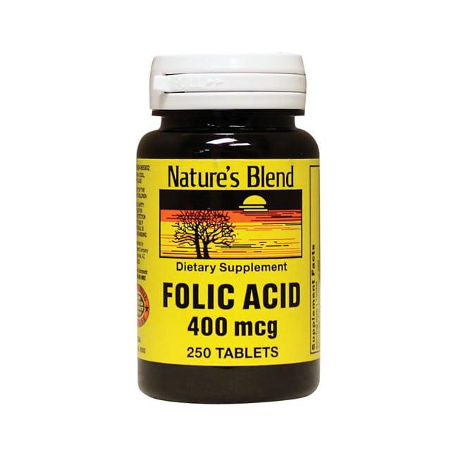 Nature's Blend Folic Acid 400 mcg