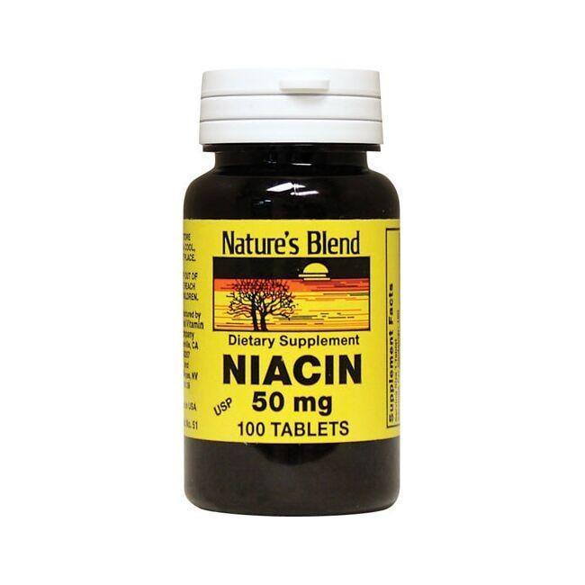 Nature's BlendNiacin 50 mg