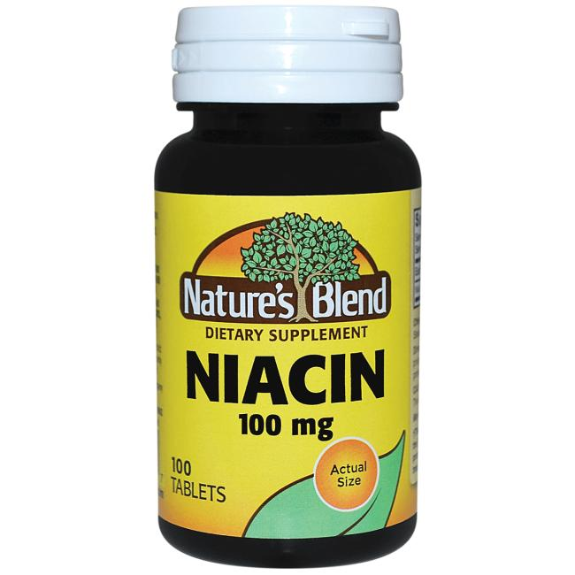 Nature's BlendNiacin 100 mg