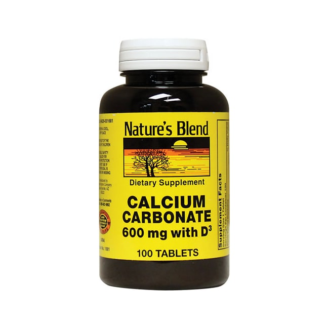 Nature's BlendCalcium Carbonate with D3
