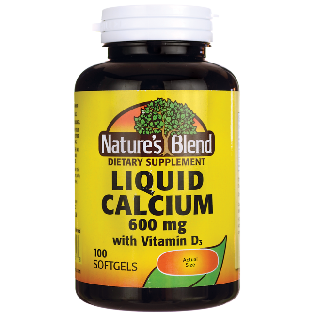 Nature's BlendLiquid Calcium with D3