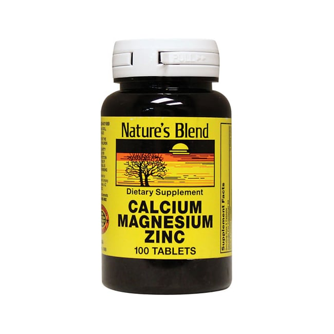 Nature's Blend Calcium Magnesium Zinc