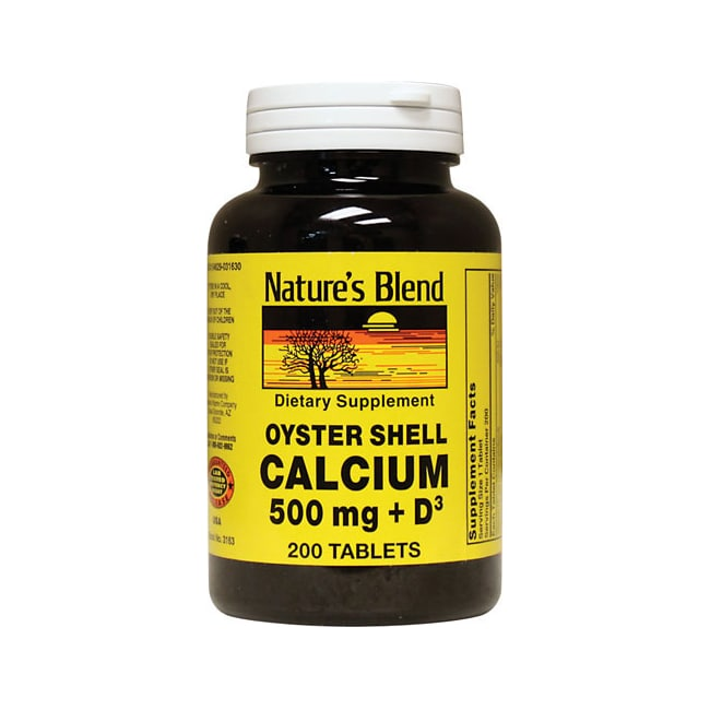 Nature's Blend Oyster Shell Calcium with D3