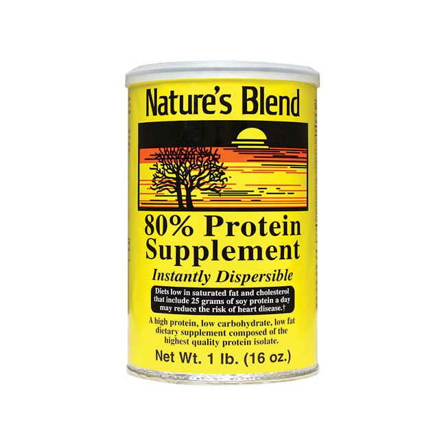 Nature's BlendProtein Powder 80% Soy Isolate