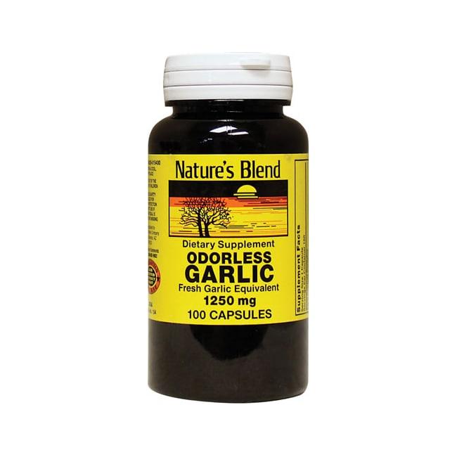 Nature's Blend Odorless Garlic