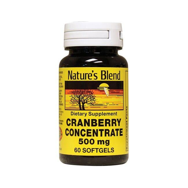 Nature's Blend Cranberry Concentrate