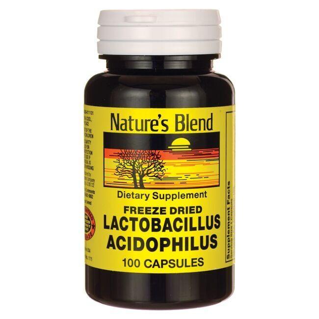 Nature's BlendFreeze Dried Lactobacillus Acidophilus