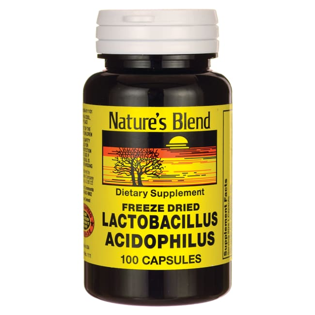Nature's Blend Freeze Dried Lactobacillin Acidophilus