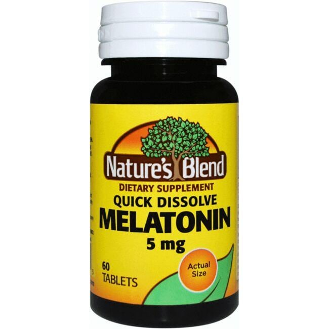 Nature's Blend Quick Dissolve Melatonin