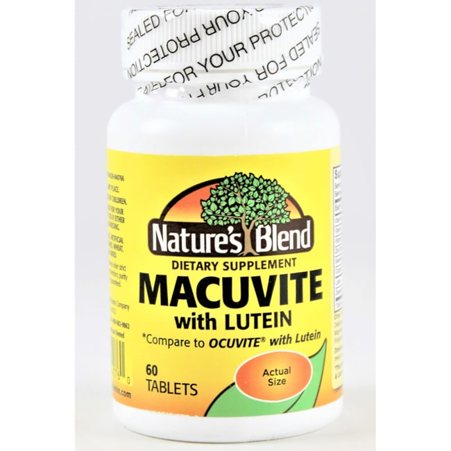 Nature's BlendMacuvite with Lutein