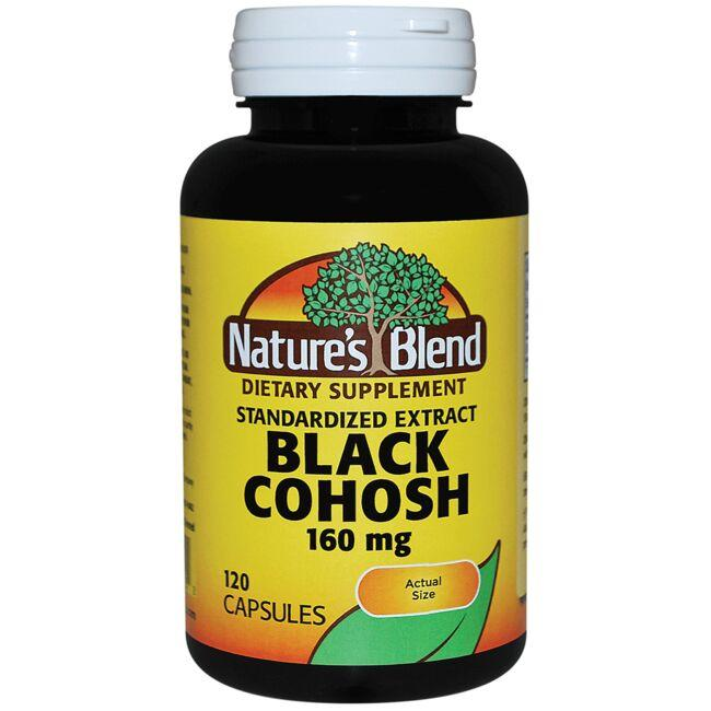 Nature's Blend Standardized Extract Black Cohosh