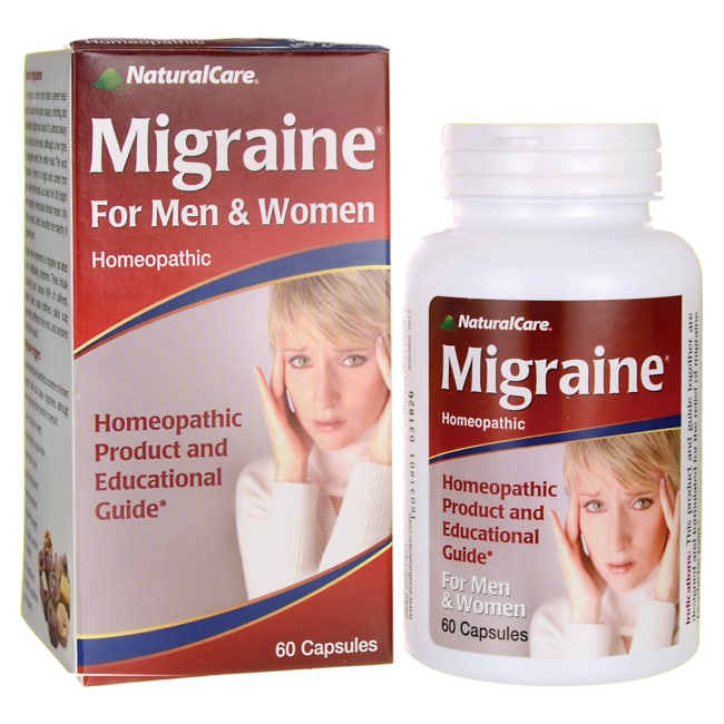 NaturalCare Migraine for Men & Women