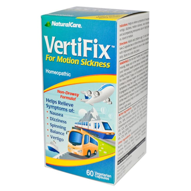 NaturalCareVertifix For Motion Sickness