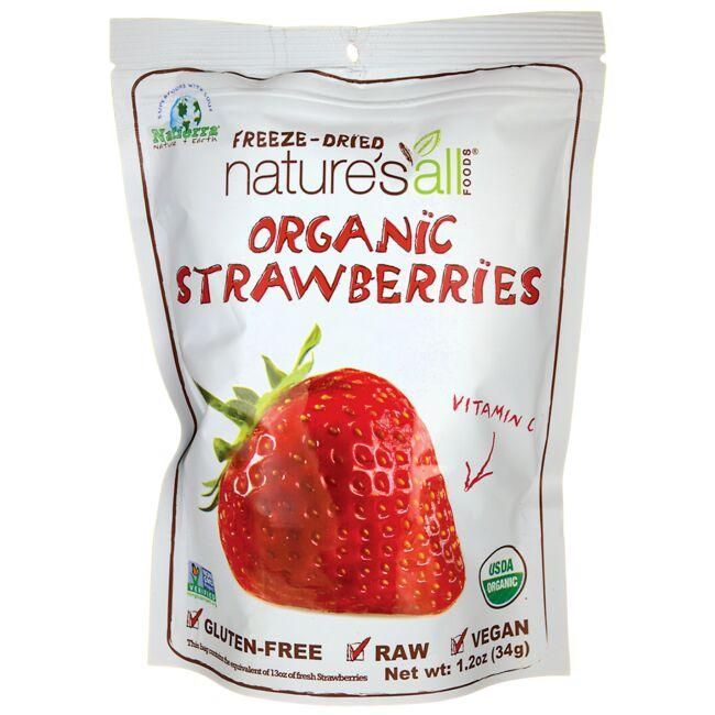 Nature's All FoodsOrganic Freeze Dried Strawberries