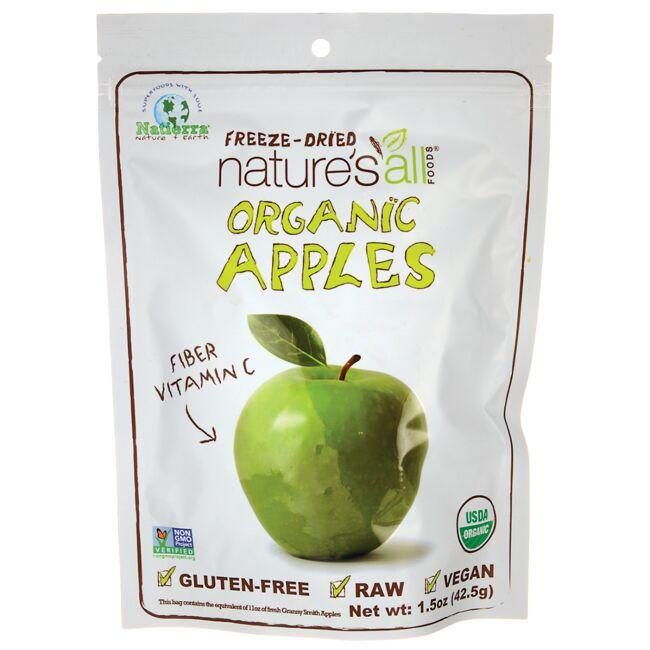 Nature's All FoodsOrganic Freeze-Dried Apples