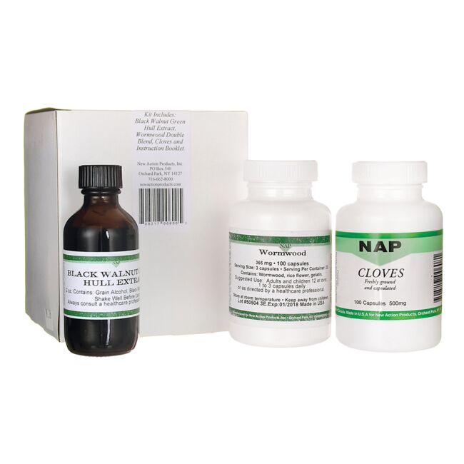 New Action Products20 Day Parasite Cleanse Program