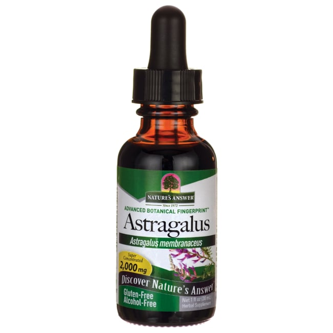 Nature's AnswerAstragalus Alcohol Free