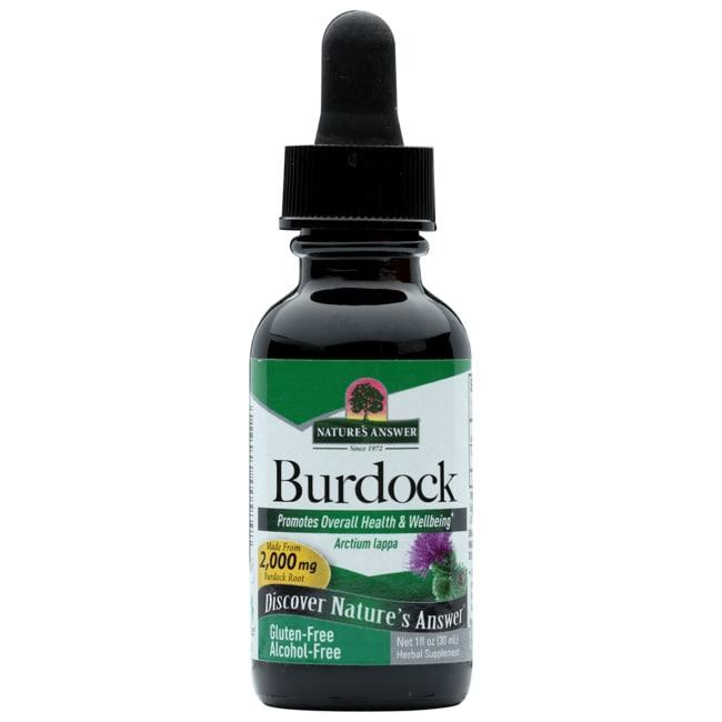 Nature's Answer Burdock Root Alcohol Free