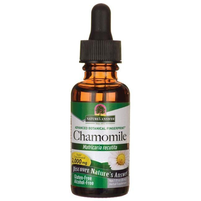 Nature's Answer Chamomile Alcohol Free