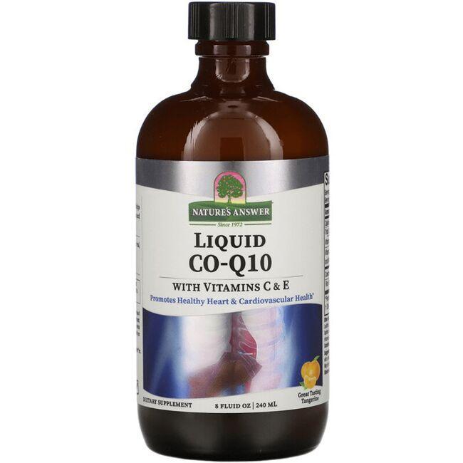 Nature's AnswerLiquid Co-Q10 with Vitamins C & E - Tangerine