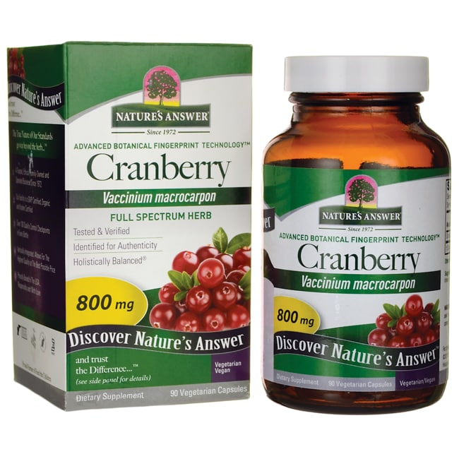 Nature's Answer Cranberry