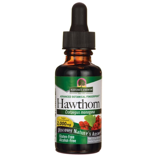 Nature's AnswerHawthorn Berries Alcohol Free
