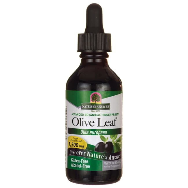 Nature's Answer Oleopein Olive Leaf Alcohol Free