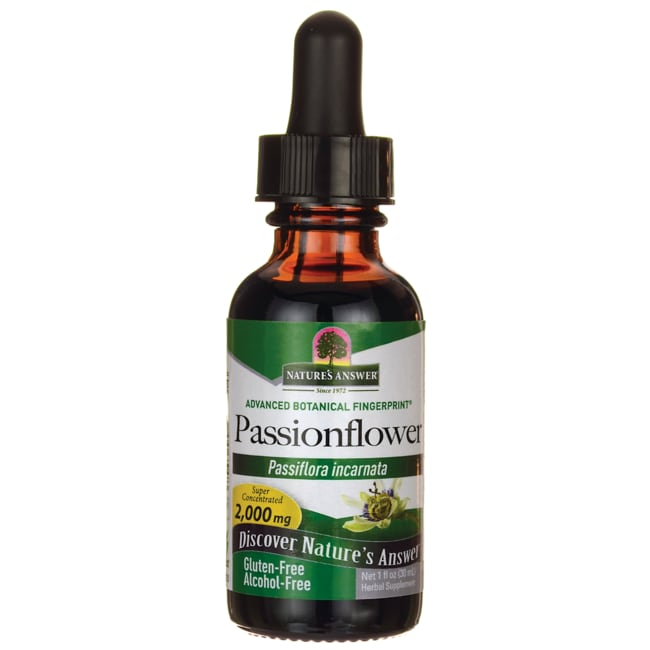 Nature's AnswerPassion Flower Herb Alcohol Free