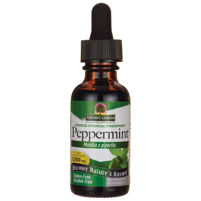 Nature's Answer Peppermint Leaf Extract Alcohol Free