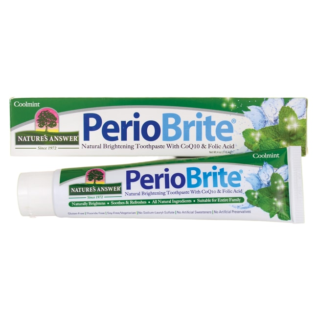 Nature's Answer PerioBrite Toothpaste - Coolmint