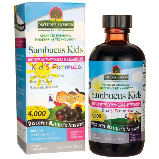 Nature's Answer Sambucus Kid's Formula