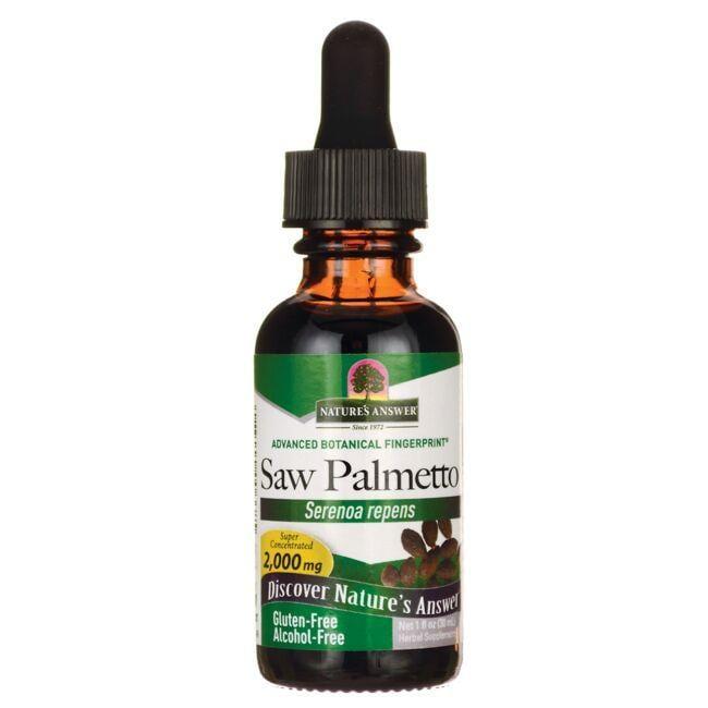 Nature's AnswerSaw Palmetto Alcohol Free