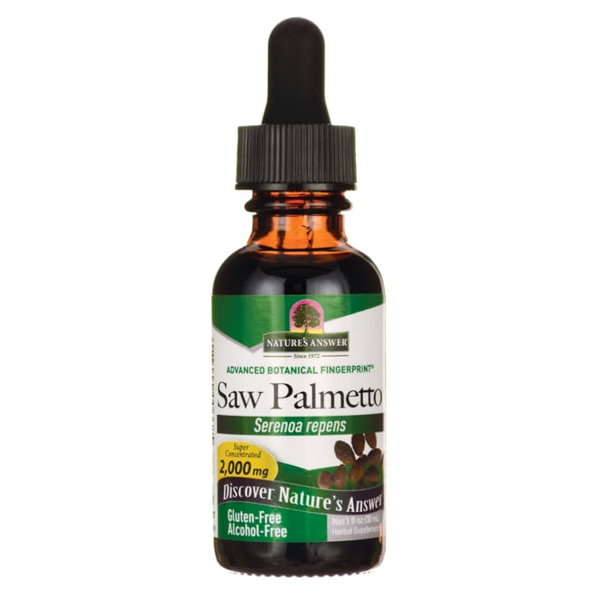 Nature's Answer Saw Palmetto Alcohol Free