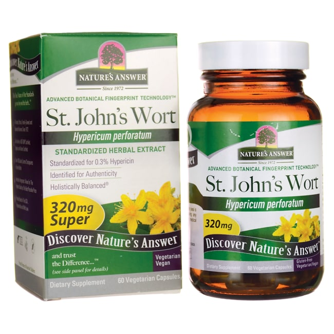 Nature's AnswerSuper St. John's Wort Herb Extract