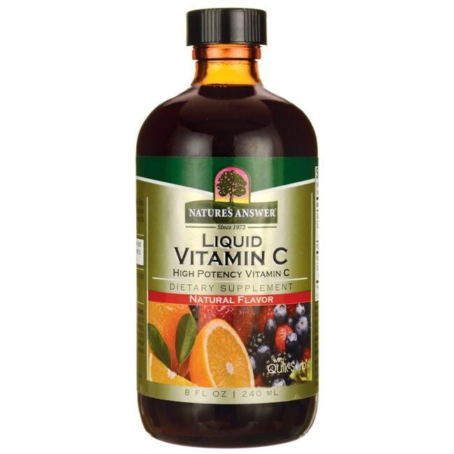 Nature's Answer Liquid Vitamin C with Quik-Sorb - Natural Flavor