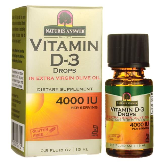 Nature's Answer Vitamin D-3 Drops