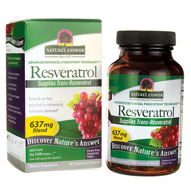 Nature's AnswerResveratrol 250 mg