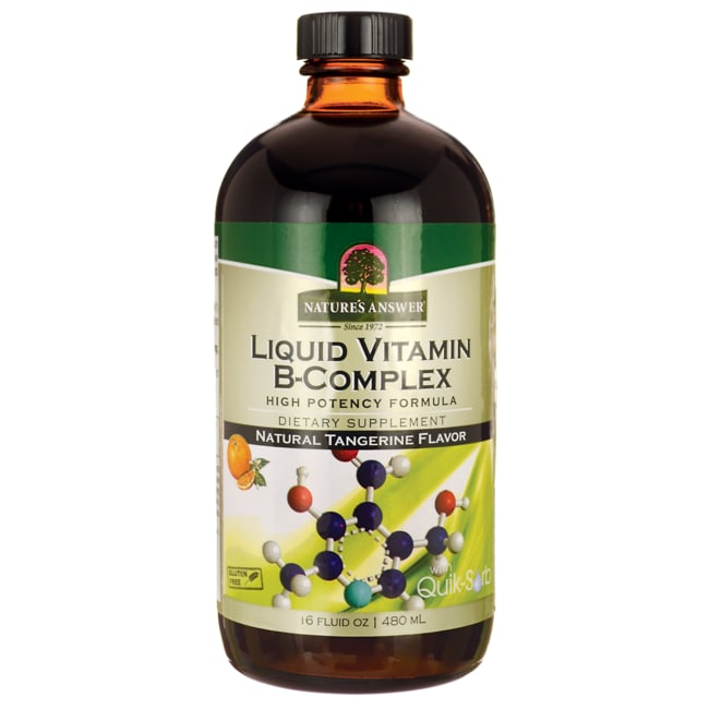 Nature's AnswerLiquid Vitamin B-Complex Tangerine Flavor